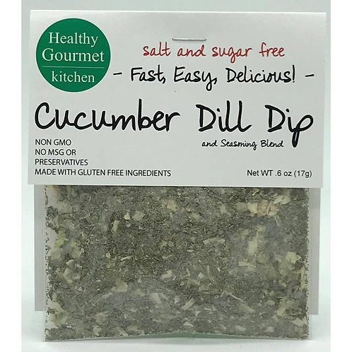 Cucumber Dill Dip Mix Comes in Two/Three/Four Pack