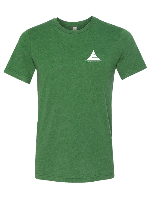 Icon Logo Tri-Blend Shirt - Green