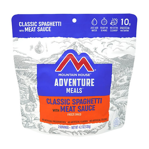 Classic Spaghetti with Meat Sauce 6-Pack/Case