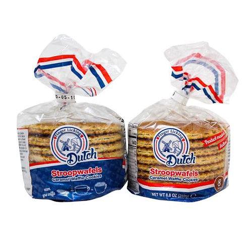 Dutch Caramel Stroopwafel, Cookies 16 Count