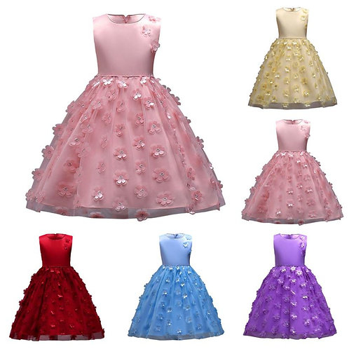 Kid  Girls Vestidos Wedding Dresses