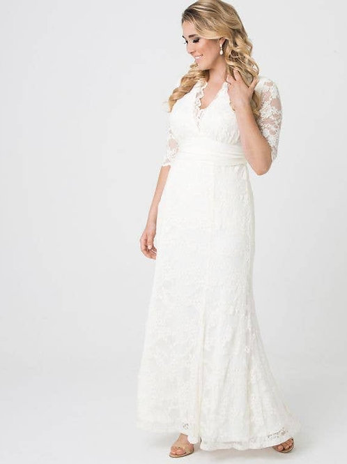Amour Lace Wedding Gown Plus Size