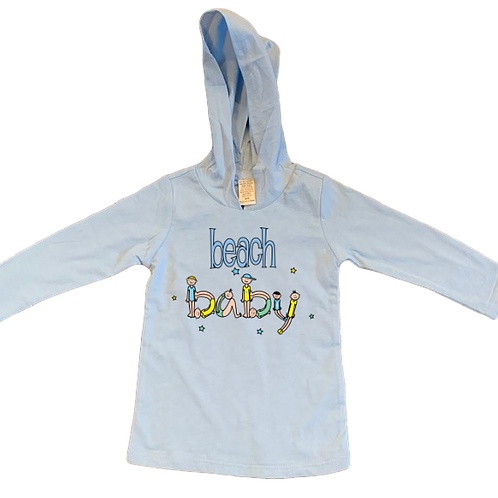 Beach Baby Boy/Girl Hoody 6 Months - 24 Months