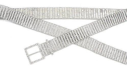 Diamante Rhinestone Chain Belt