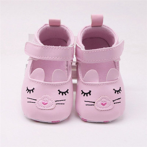 Cute Newborn Baby Girl shoes first walkers Soft
