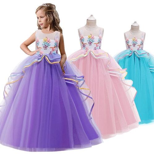 Elegant Kids Dresses For Girls Wedding Pageant