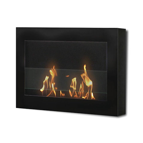 Anywhere Fireplace Indoor Wall Mount Fireplace - SoHo black