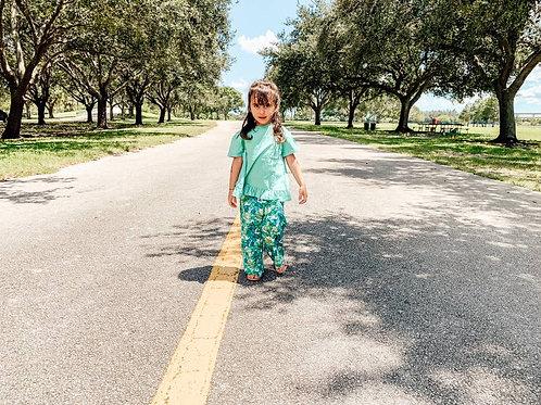 Shirley Shirt Island green
