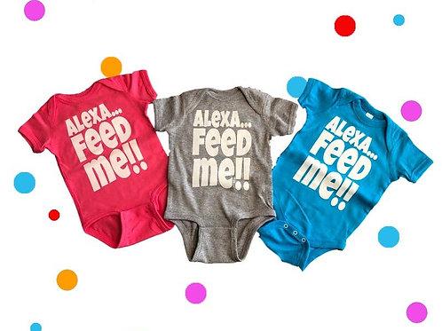 Alexa Feed Me Bodysuit