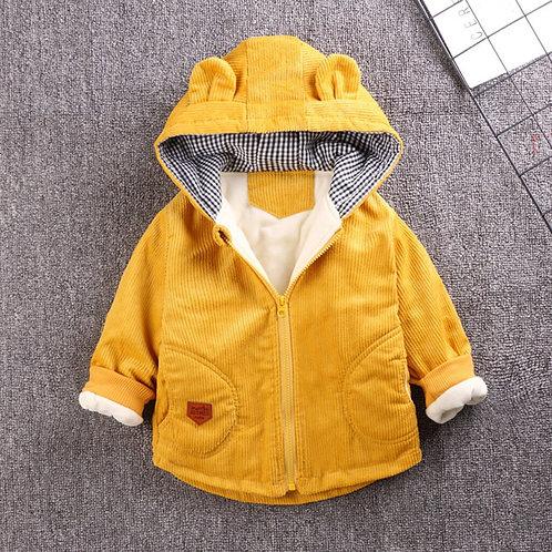 Toddler Girls Boys Winter Coat 3D Cartoon Hooded