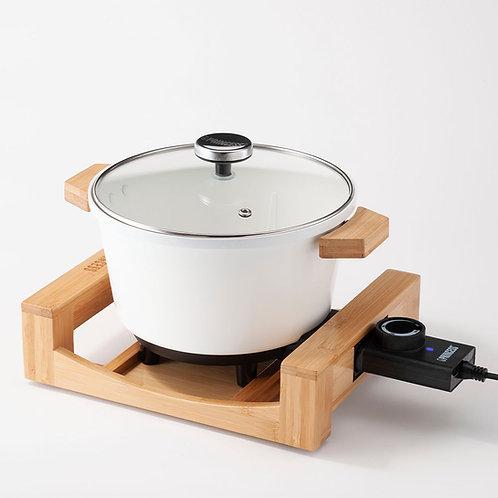 173030 多功能陶瓷料理鍋-白