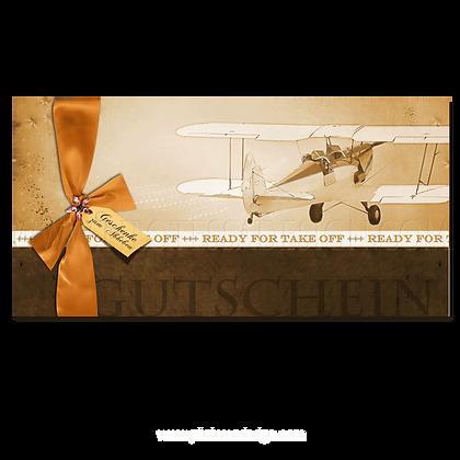 Gutschein Motorflug