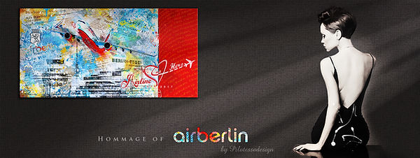 Homage of airberlin