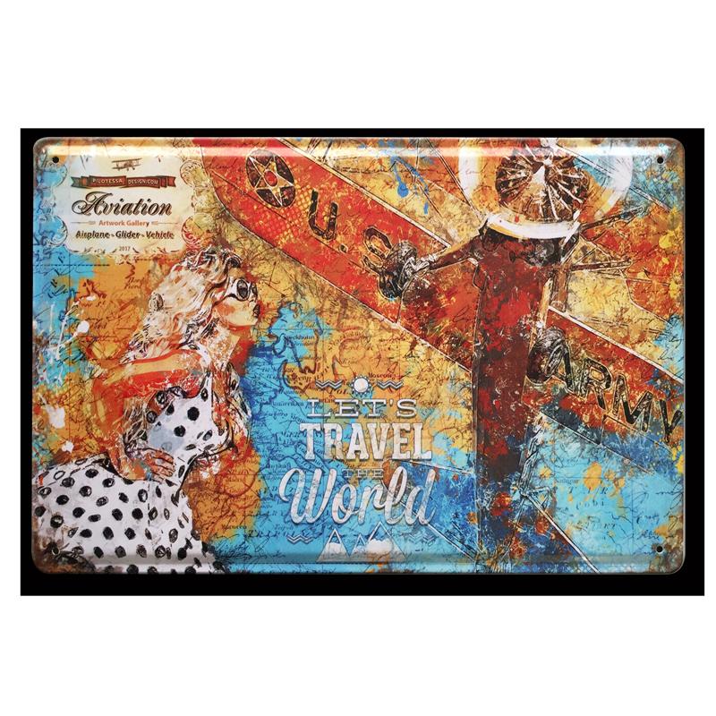 Blechschilder_Travel