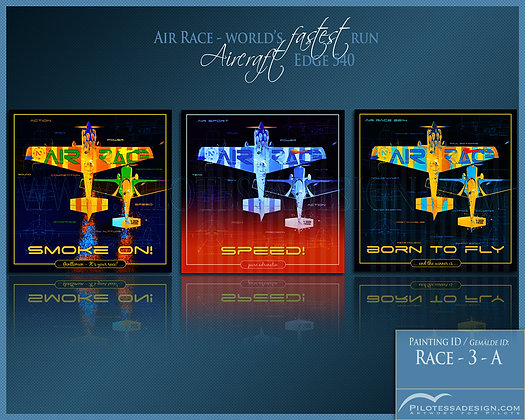 AIR RACE -3er Set