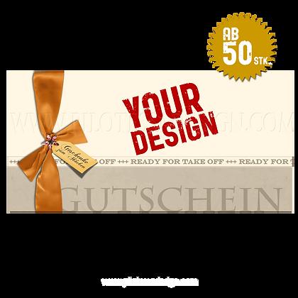 """Gutschein """"Your Design"""""""
