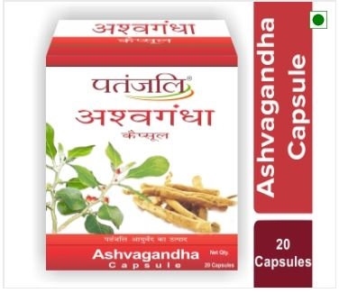 ASHVAGANDHA (CAPSULE) 20 GM
