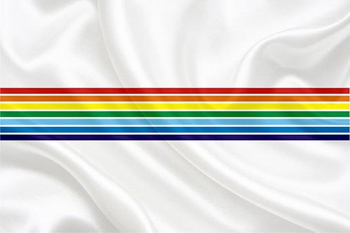Флаг Еврейской АО