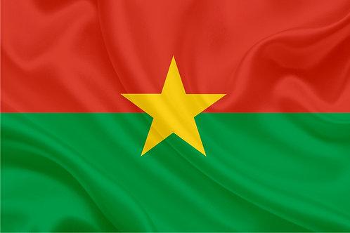 Флаг Буркина-Фасо