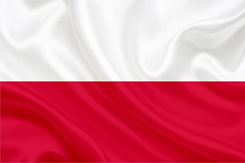Флаг Польшы