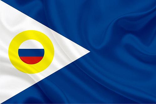 Флаг Чукотского АО