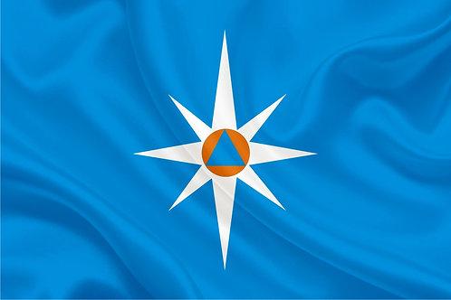 Флаг МЧС Ведомственный