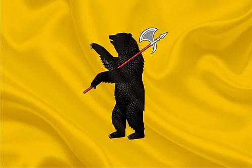 Флаг Ярославской области