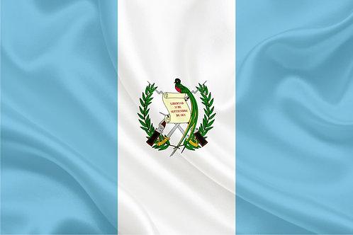 Флаг Гватемалы