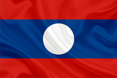 Флаг Лаоса