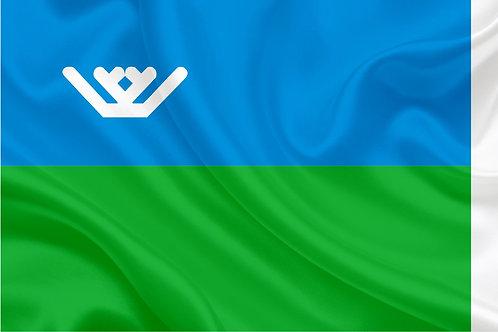 Флаг Ханты-Мансийского АО