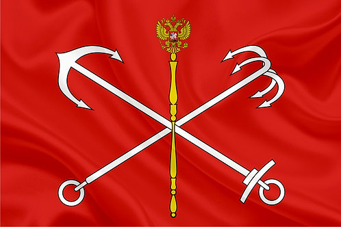 Флаг г.Санкт-Петербург