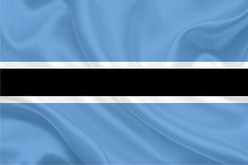 Флаг Ботсвана