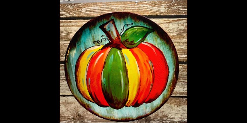 Perfect Pumpkin Ceramic Technique Class