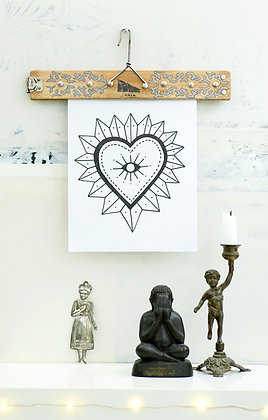 Cintre porte-affiche