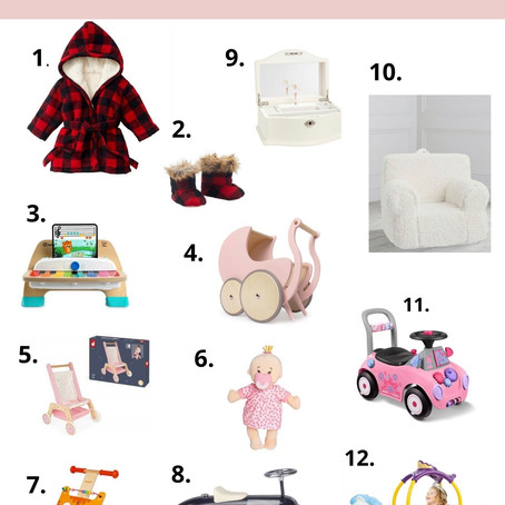 HOLIDAY GIFT GUIDE FOR YOUR Littles