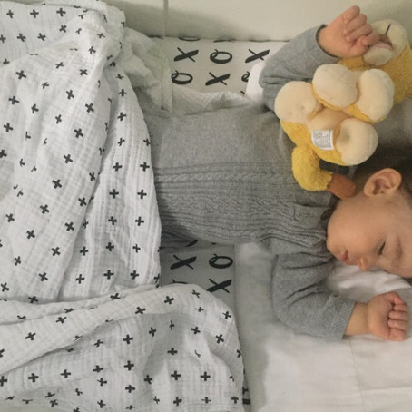 4 tricks on getting your babe sleeping through the night... in their crib!