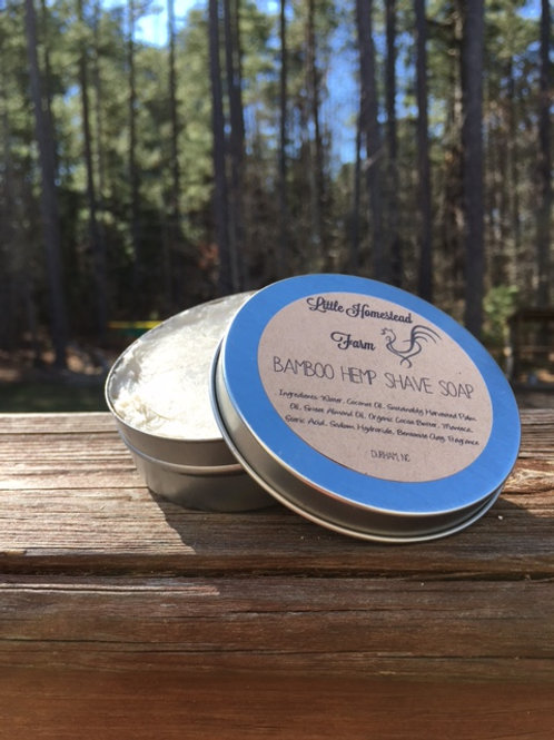 Shave Soap Tin