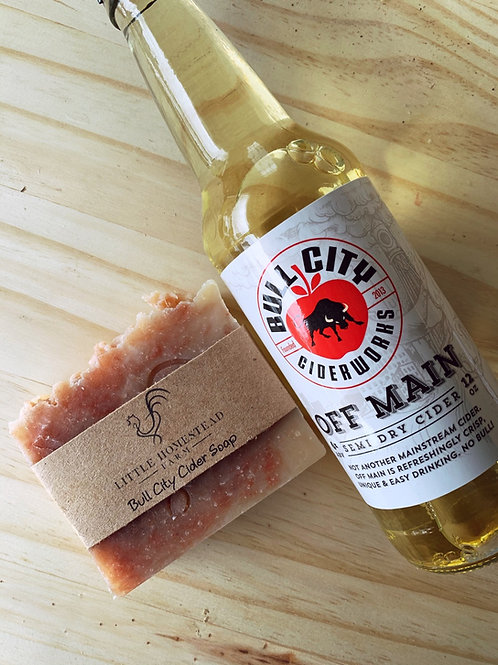 Bull city cider Soap