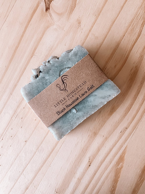 Black Hawaiian Lava Salt