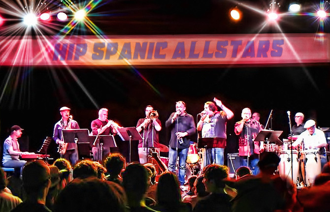 Hip Spanic Allstars rock the Mystic Theatre for the 2017 San Francisco Walk for Alzhiemer's Asso