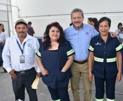 Ricardo Ortiz reconoce la labor de los trabajadores de Japami