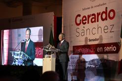Informe de resultados del Senador Gerardo Sánchez