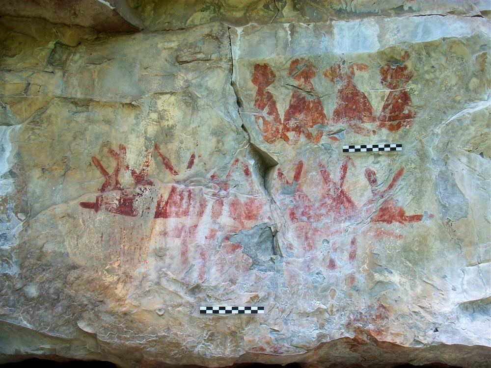 Pinturas rupestres de Coahuila