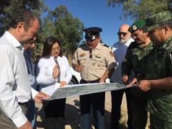 En Salamanca analizan lugares para la llegada de la Guardia Nacional