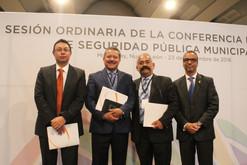 Se llevó a cabo la Conferencia Nacional de Seguridad Pública Municipal