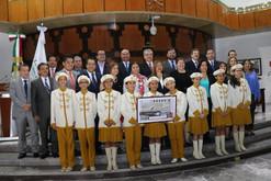 """Realizan Sortero de la Lotería Nacional con edición conmemorativa del """"195 Aniversario de la instala"""