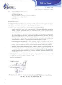 El IMSS aclara nota sobre la cancelación de mastografías en León