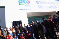Entrega y supervisa el gobernador, Miguel Márquez Márquez y el alcalde, Héctor López Santillana obra