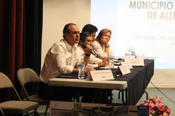 Luis Alberto Villarreal presentó su proyecto de Circuitos Carreteros a Arquitectos