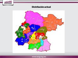 Dan a conocer la nueva distritación del estado de Guanajuato